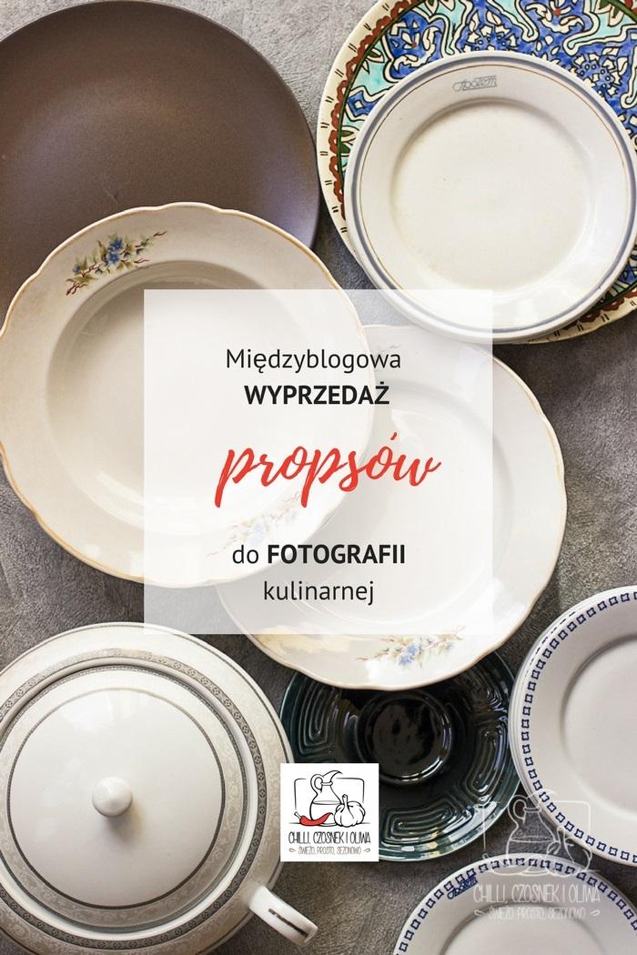 Międzyblogowa Wyprzedaż Propsów do fotografii kulinarnej