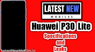Huawei P30 Lite Specifications