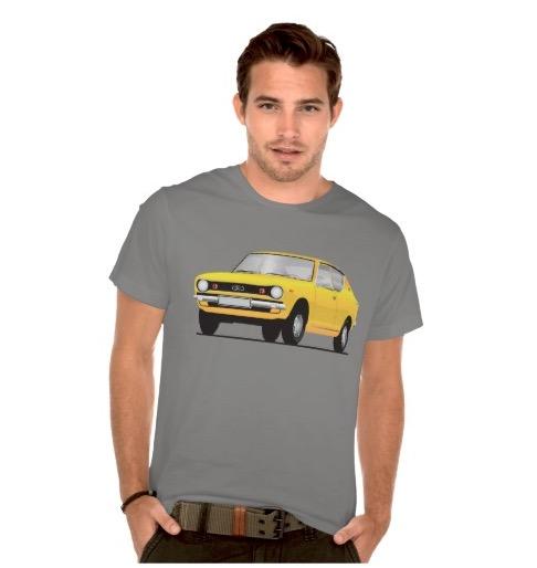 datsun, nissan, cherry, e10, 100A, 120A, t-shirt