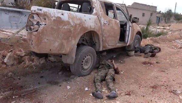 Foto Bangkai Pasukan Garda Syiah Iran yang Tewas