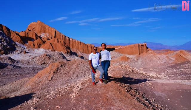 A mais impressionante formação, o Anfiteatro - Valle de la Luna