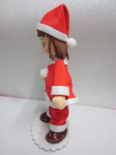 decorazione merce Babbo Natale//Babbo Natale rosso con profilo Bianco pompon e campanello BERRETTO