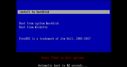 The FreeDOS Project blog: Tutorial: How to install FreeDOS
