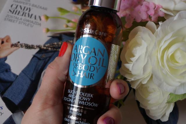 Suchy olejek arganowy GlySkinCare - kompleksowa pielęgnacja ciała i włosów