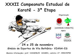 32º Campeonato Espírito-Santense de Karate - 3ª Etapa