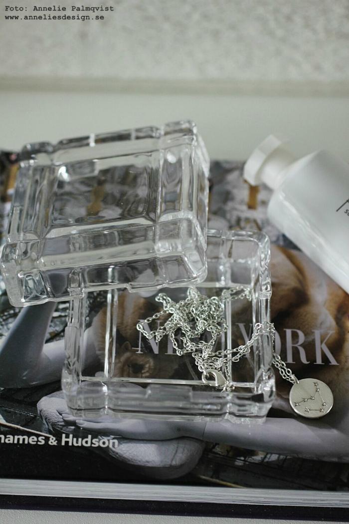 glasask, ask, glas, meraki handkräm, annelies design, webbutik, webbutiker, webshop, nätbutik, inredning, dekoration, förvaring