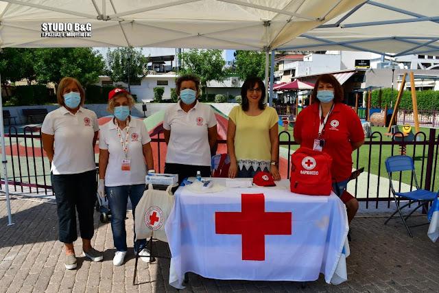 Πρόγραμμα θερμομέτρησης της Νοσηλευτικής Υπηρεσίας του Ε.Ε.Σ. Άργους σε εθελοντική αιμοδοσία