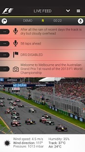 Official F1 App 6.064 Team Radio Transmissions