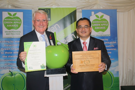 Anugerah International Green Apple Award 2014
