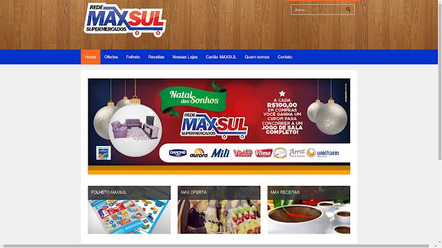 Site Rede Max sul