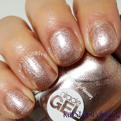 Sally Hansen Miracle Gel Winter 2015 - Terra-Coppa | Kat Stays Polished
