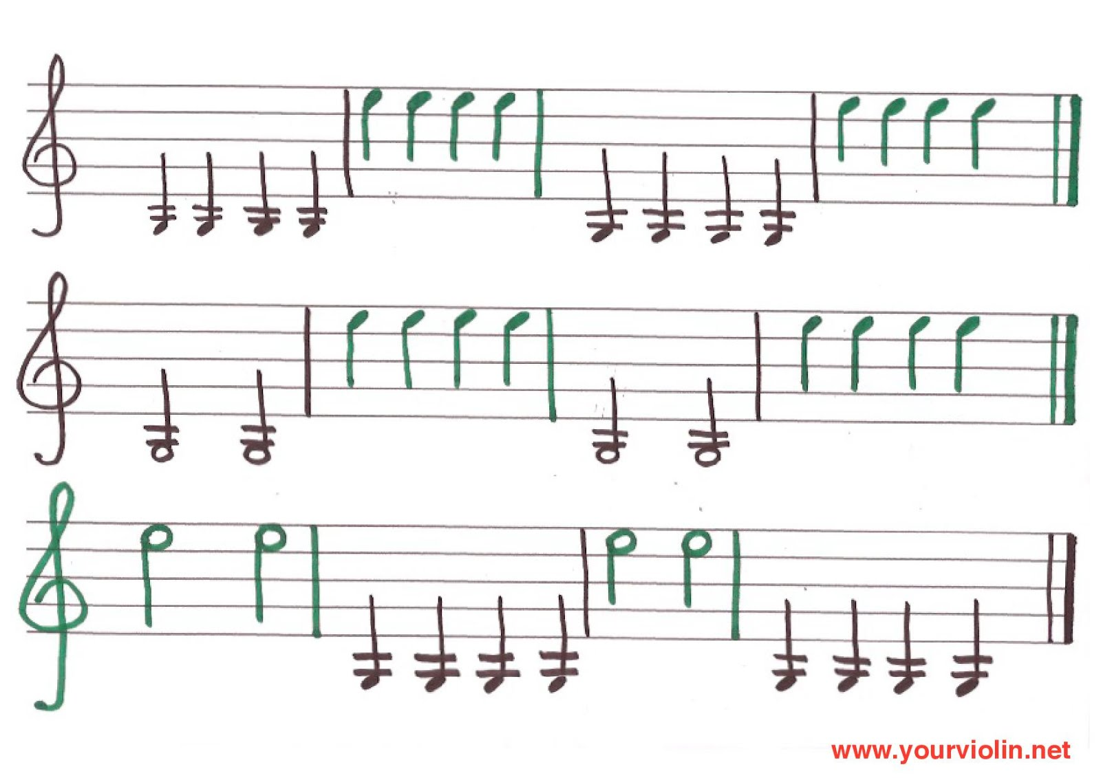 FREE Sheet Music For Beginners with Video Tutorials – Music
