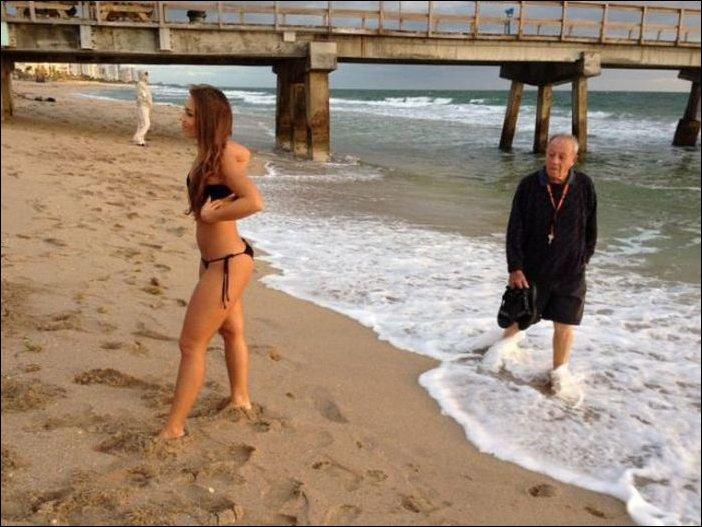 Прикольные пляжные фотографии