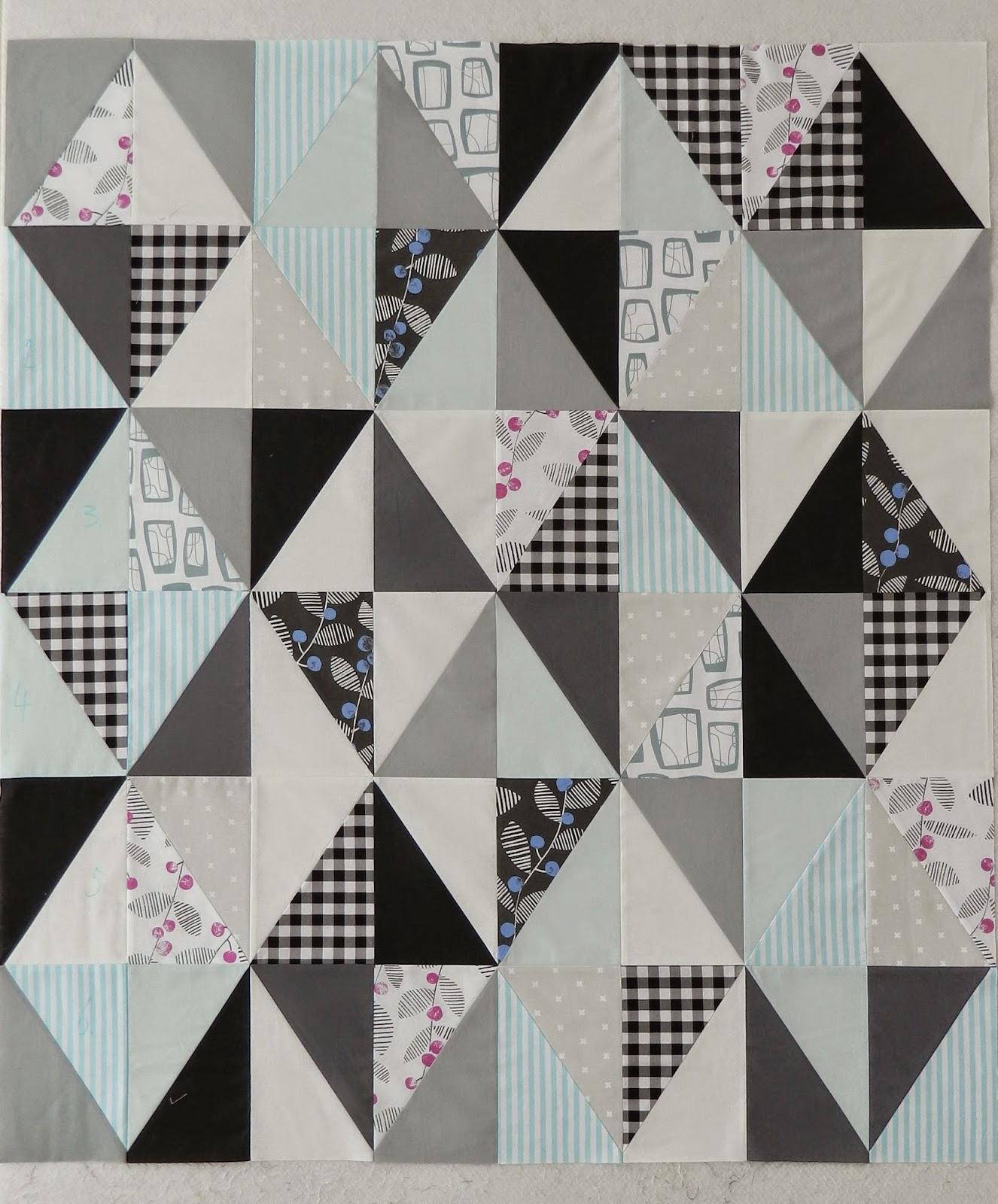 S O T A K Handmade Half Rectangle Triangles