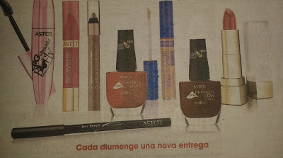 Productos Astor con La Vanguardia