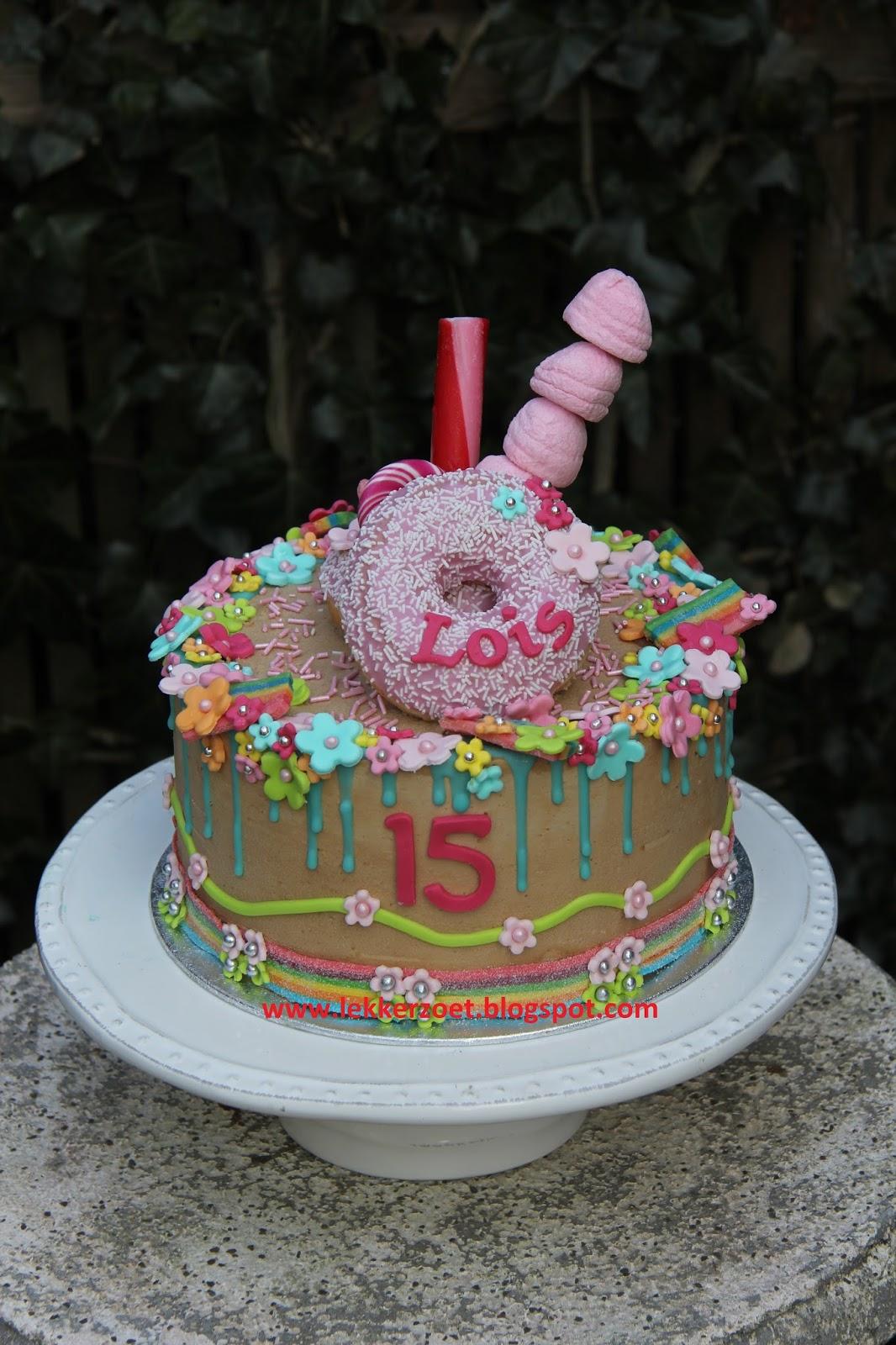 lekkere verjaardagstaart