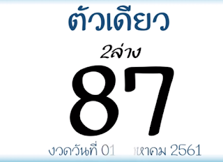 Thailand Lottery Free Winning Tips For 01-10-2018