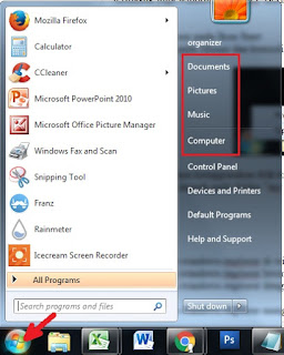 cara membuka windows explorer