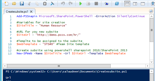 sharepoint 2013 subsite templates