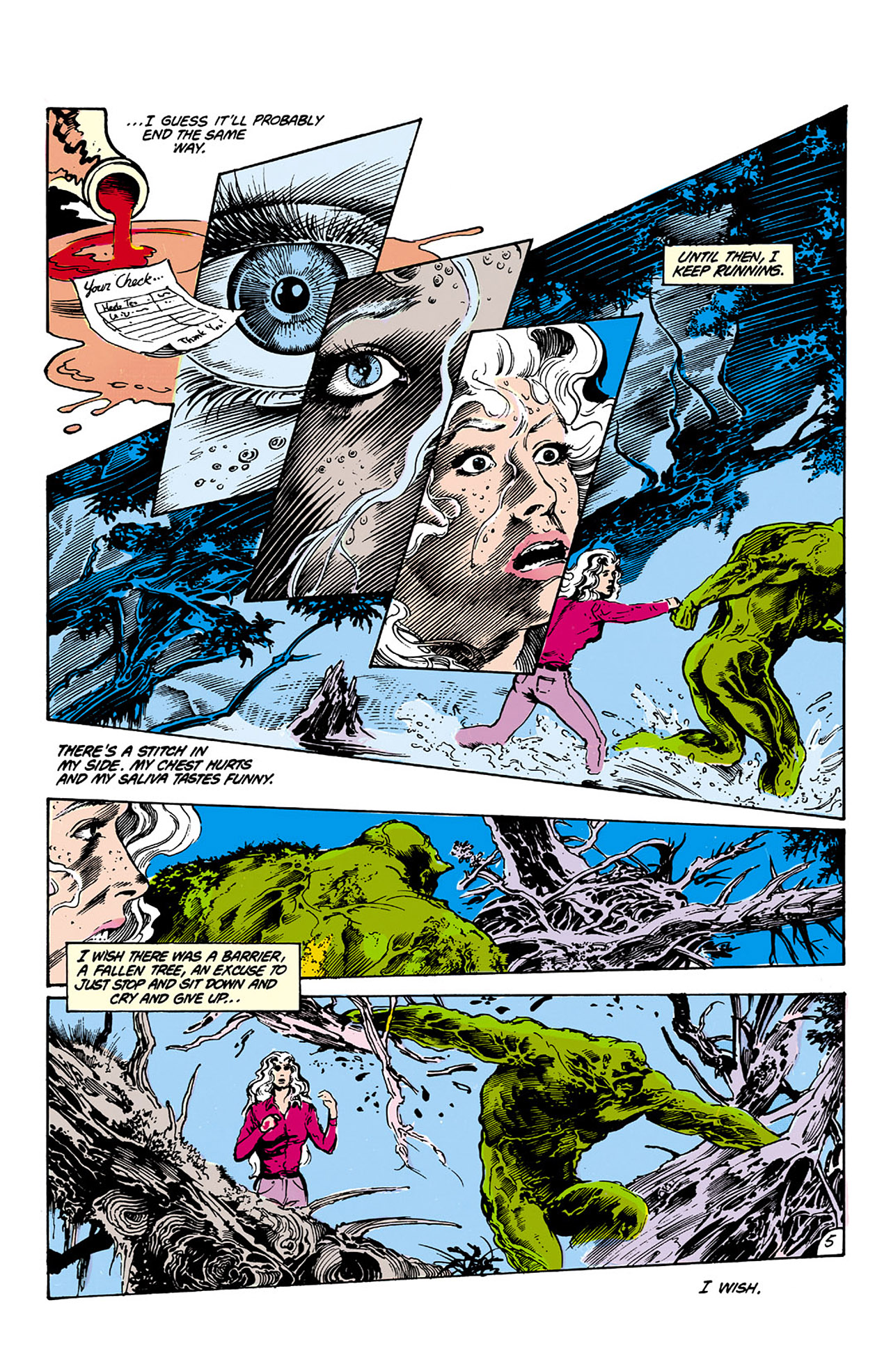 Swamp Thing (1982) Issue #26 #34 - English 5