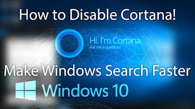 How to disable online search in Cortana
