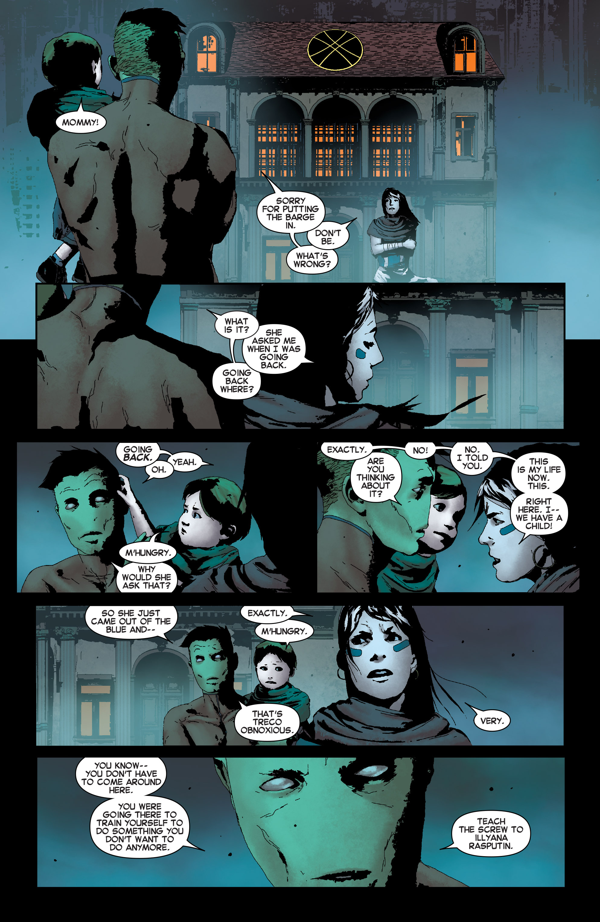 Read online Uncanny X-Men (2013) comic -  Issue # Annual 1 - 21
