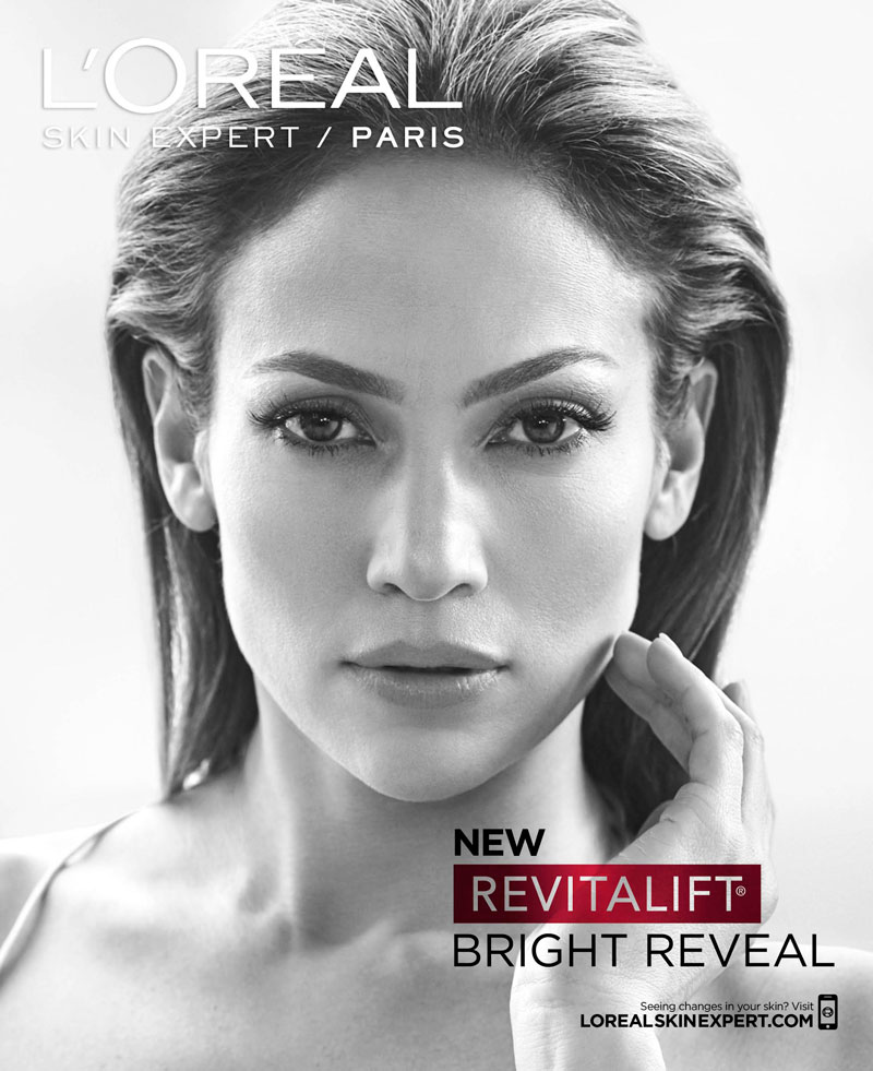 Jennifer Lopez goes gorgeous for new L'Oreal Paris Campaign