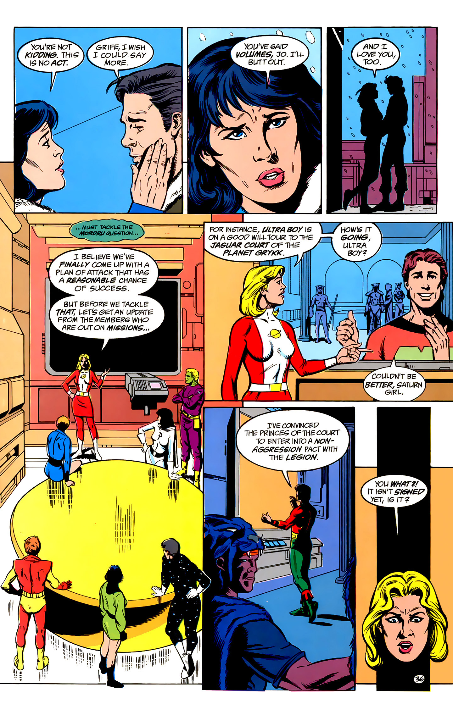 Legion of Super-Heroes (1989) _Annual_1 Page 36