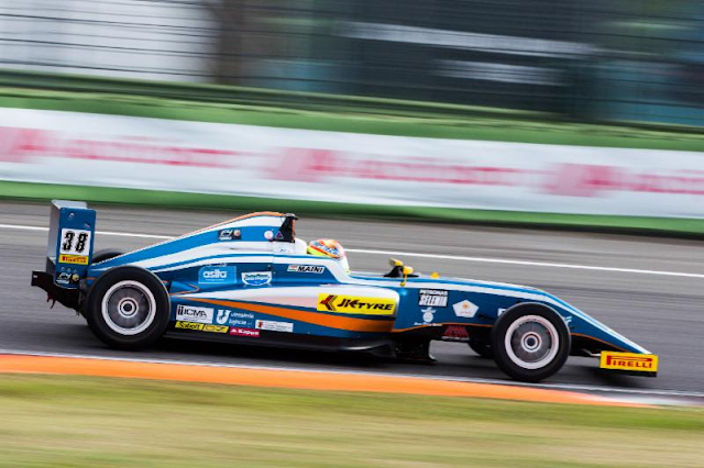Maini gets Debut Podium Behind Schumacher in Italian F4