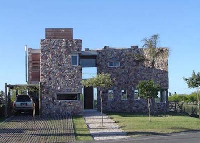 stone style house 16
