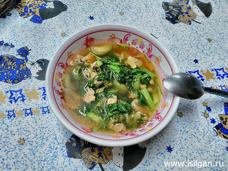 Dill soup pork. Остров Ко Чанг. Таиланд
