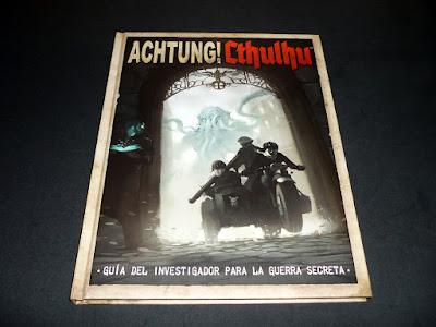 Reseña: Achtung! Cthulhu La Guía del Investigador para la Guerra Secreta (EDGE)