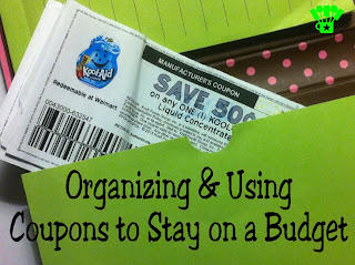 How to Organize & Use Coupons to Stay on a Budget