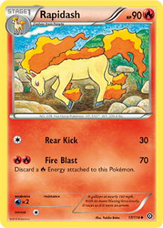 Rapidash Steam Siege Pokemon Card
