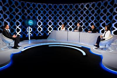 O convidado durante entrevista (Crédito: Gabriel Cardoso/SBT)
