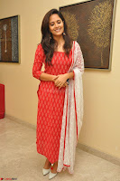Anusuya in Red at Kalamandir Foundation 7th anniversary Celebrations ~  Actress Galleries 040.JPG