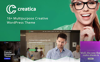 Creatica - Extraordinary WordPress Theme