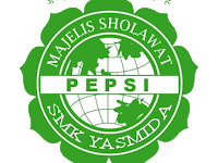 Design Logo Pepsi Majelis Sholawat SMK Yasmida