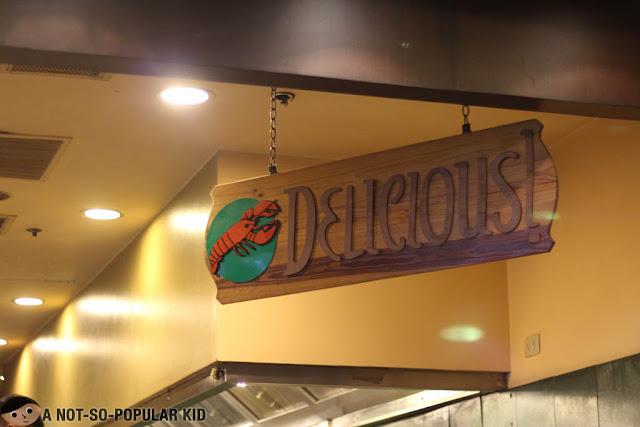 Delicious Signage in Gumbo Restaurant