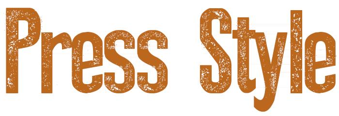 Press Style Font