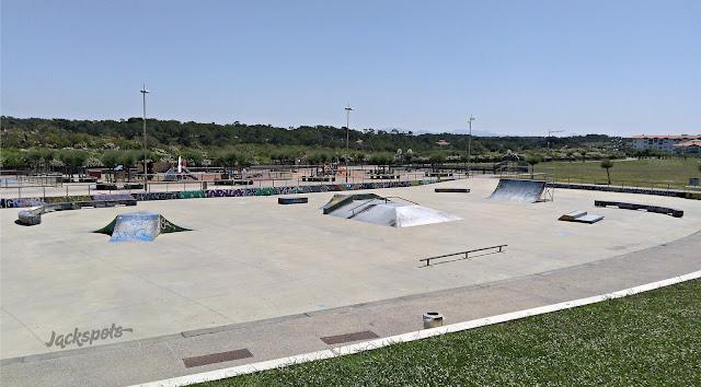 Skatepark Anglet la barre