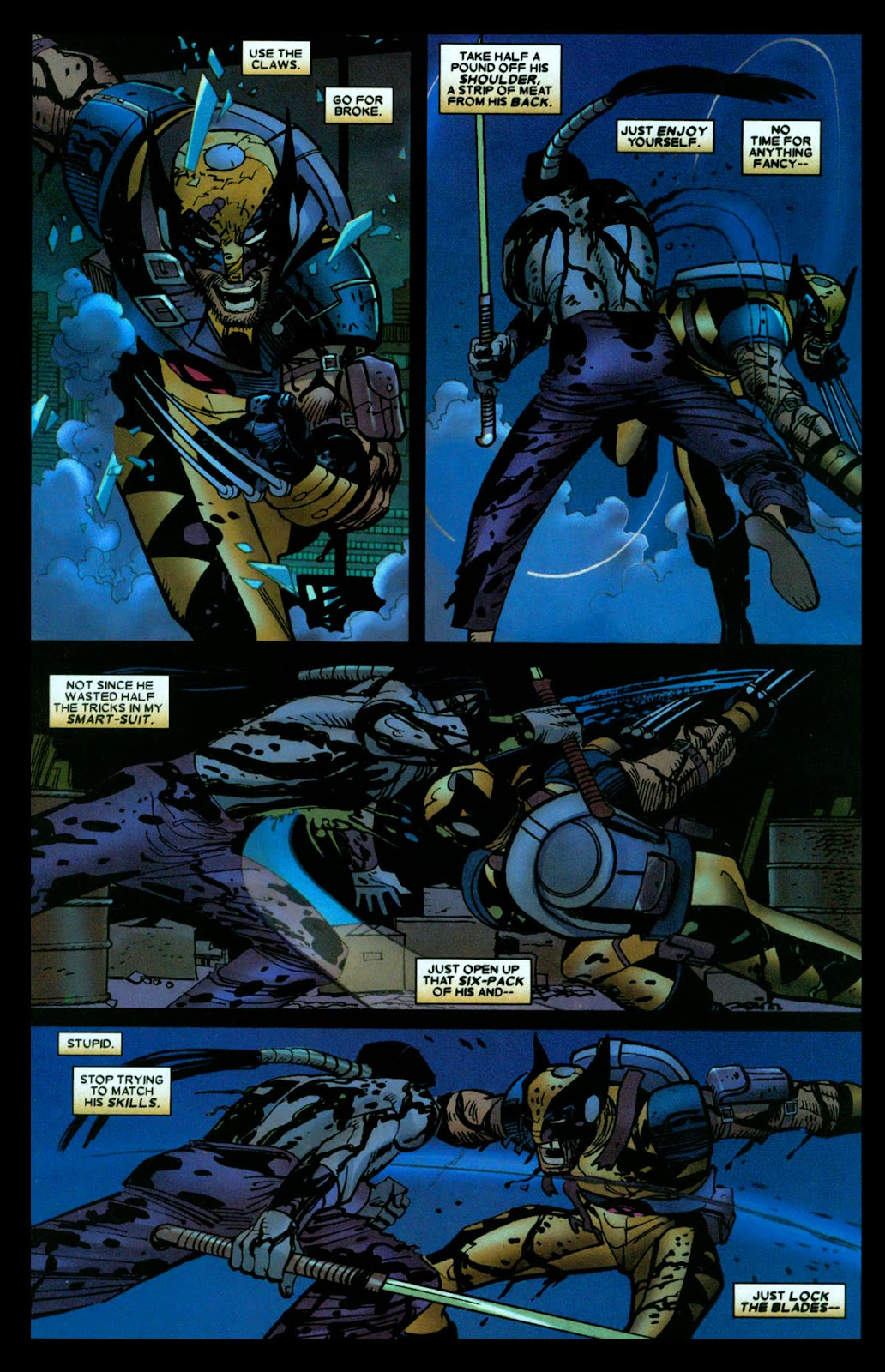 Read online Wolverine (2003) comic -  Issue #31 - 11