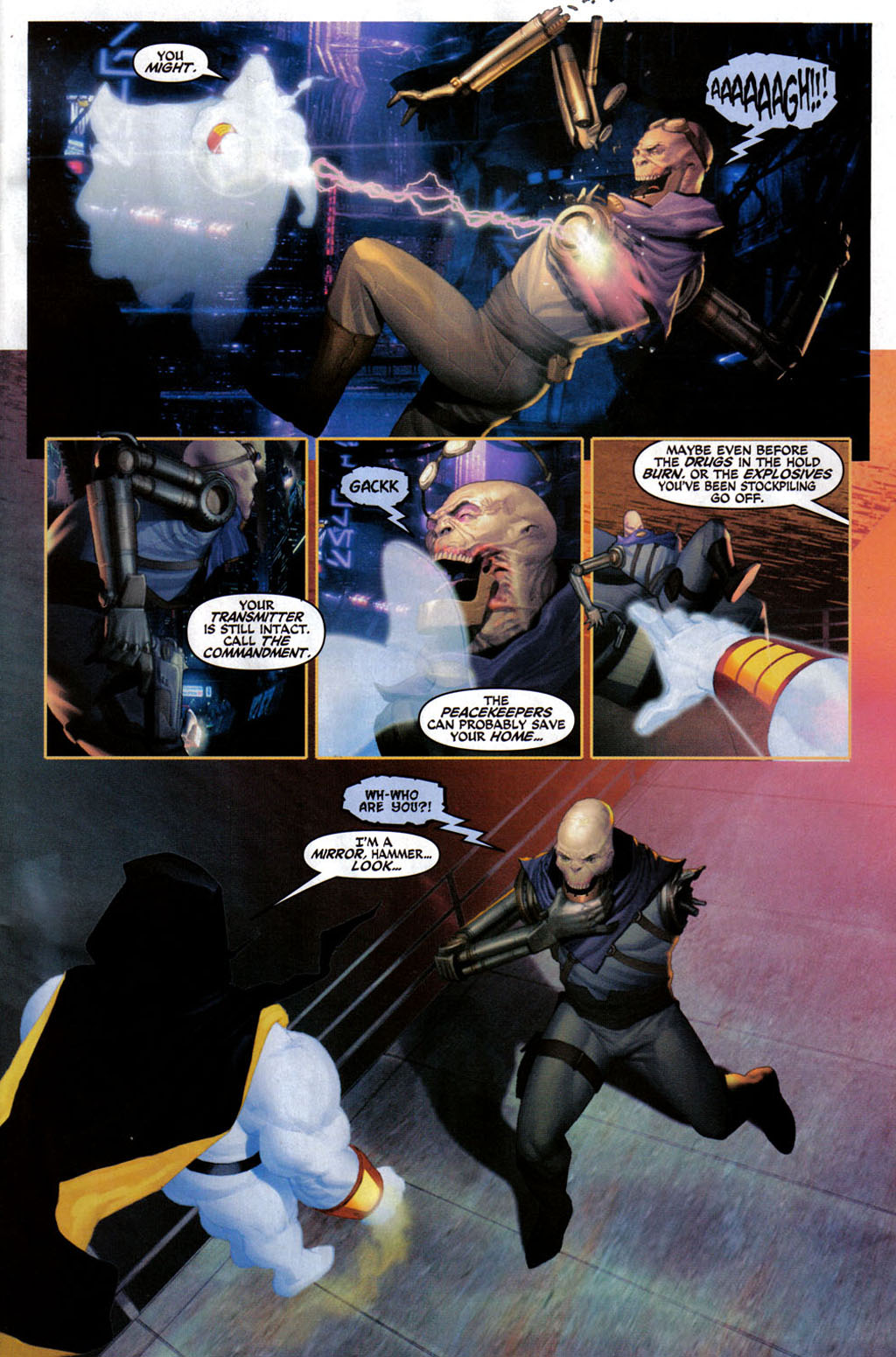 Read online Space Ghost (2005) comic -  Issue #3 - 4