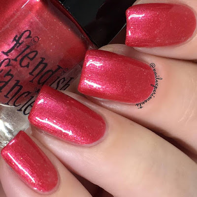 Fiendish Fancies Offred swatch from the Survive collection