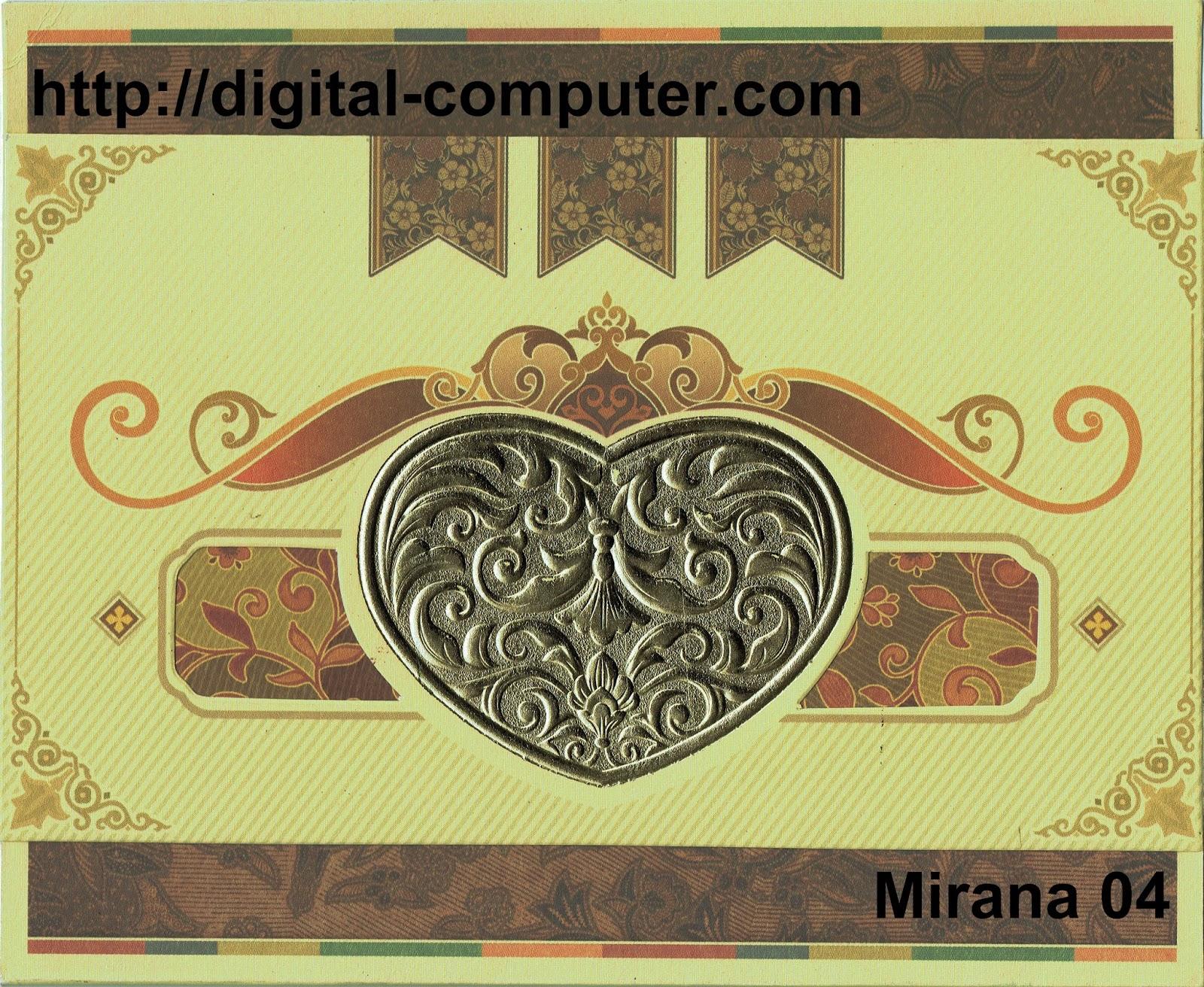 Undangan Softcover Mirana 04