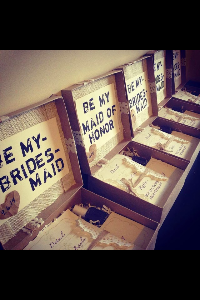 The Gracious Way: Creative Ways To Ask Your Bridesmaids