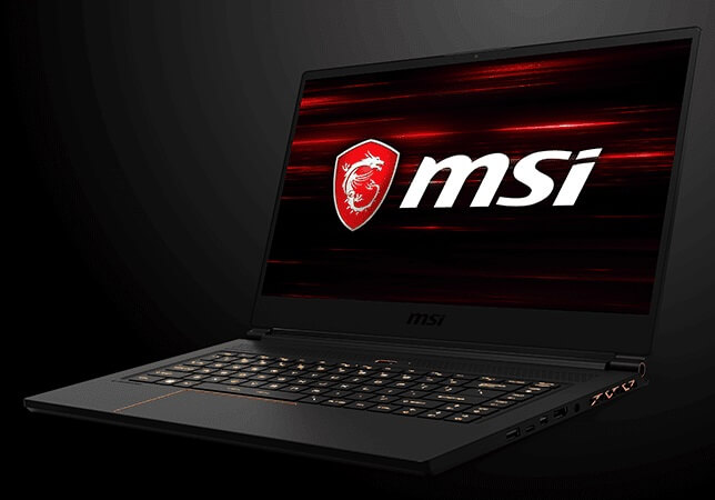 MSI GS65 Thin Gaming Laptop