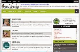 Blog yang bekerja untuk Kita