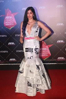Adah Sharma At Nykaa Femina Beauty Awards 2019