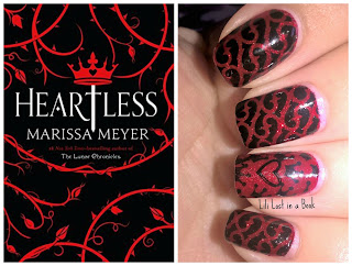 Literary Nails: Heartless by Marissa Meyer